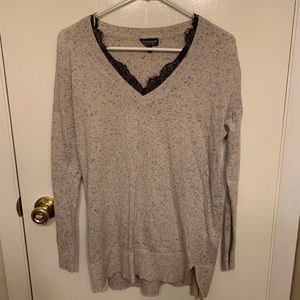 Topshop flecked sweater